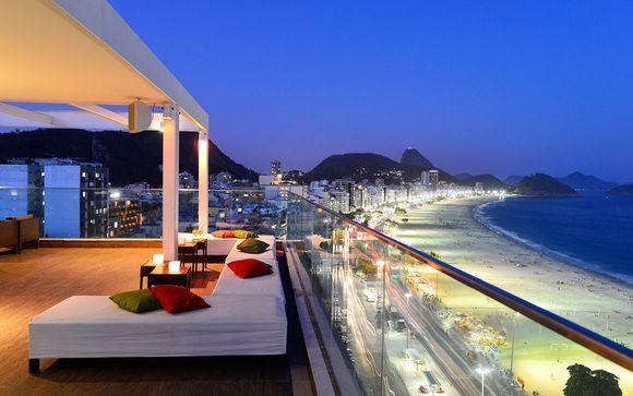 Hôtel Pestana Rio Atlantica 4*