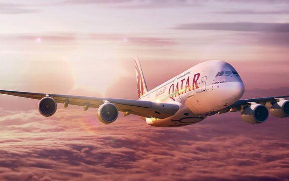 Offrez-vous, en option, le luxe de la classe Affaires avec Qatar Airways