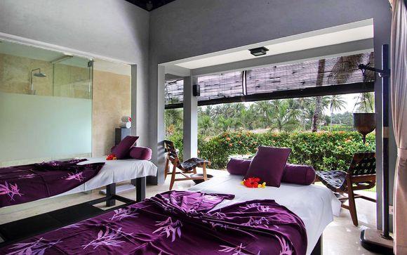 Poussez les portes de l'hôtel Furama 4* à Ubud
