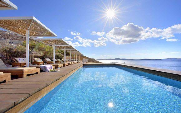 Pied-à-terre pour deux dans les Cyclades