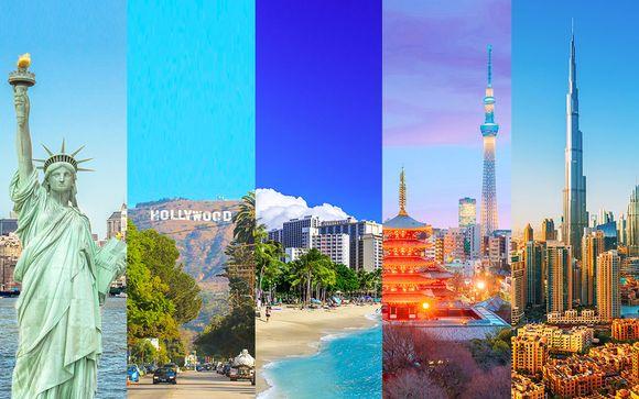 Tour du Monde en 16 nuits - De New York à Dubaï