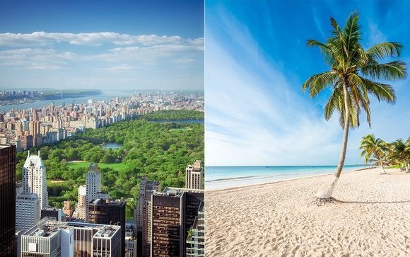 City-break et sable blanc
