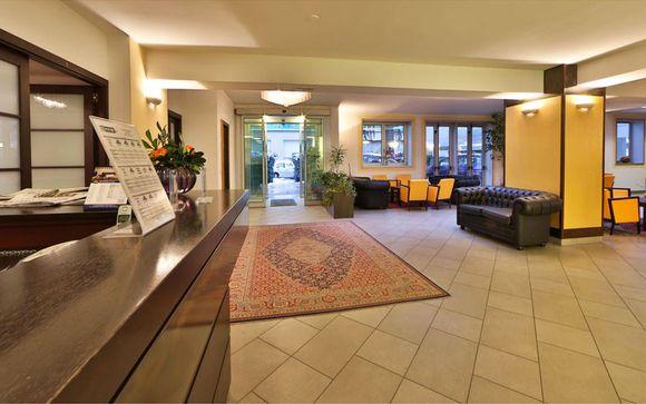 Poussez les portes de votre Best Western City Hôtel Bologna 4*