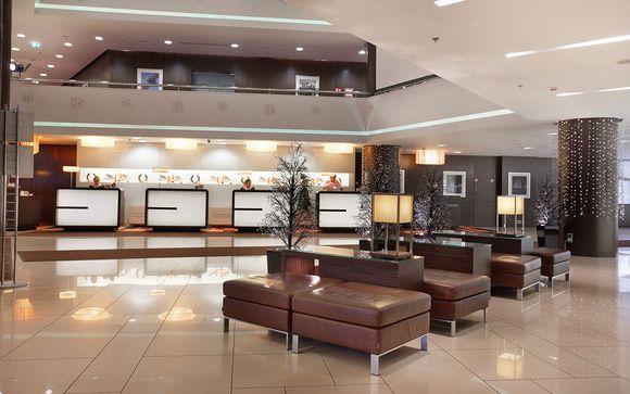 Poussez les portes de l'hôtel Azimut Olympic Moscou 4*