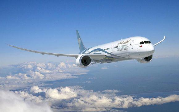 Offrez-vous le luxe de la classe Affaires avec la compagnie Oman Air