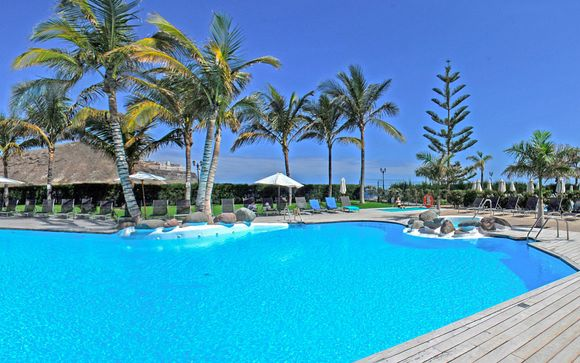 Resort familial avec vue sur l'océan - Mogan -