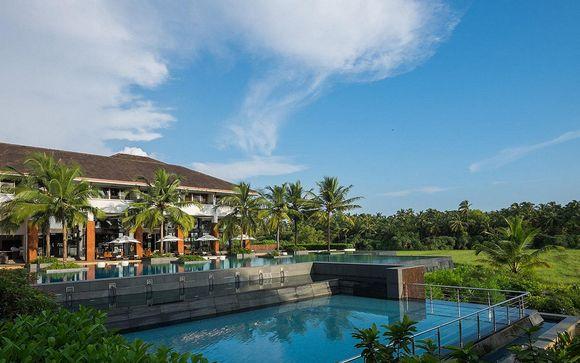 Poussez les portes de l'hôtel Alila Diwa Goa 5*