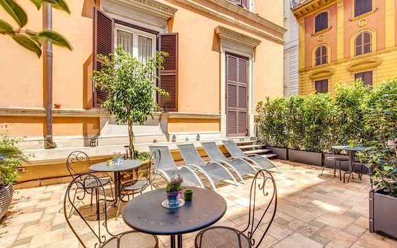 Poussez les portes de l'Hôtel Roman Terrace