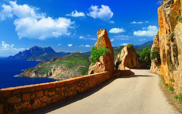 Tour en 7 nuits/8 jours avec Corsica Ferries