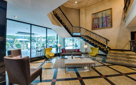 Poussez les portes de l'hôtel Crowne Plaza à Panama City