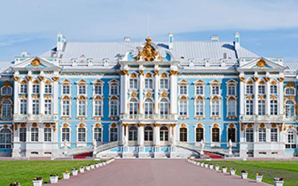 Mettez une option sur l'évasion à Saint Petersbourg