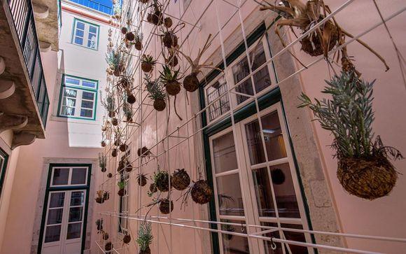 Poussez les portes de l'hôtel My Story Rossio