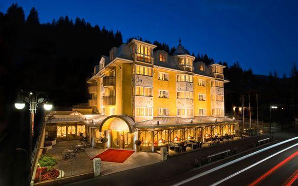 Poussez les portes de l'Alpen Suite Hotel 4*