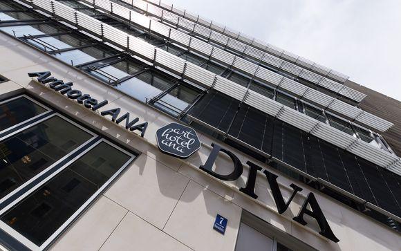 Poussez les portes de l'hôtel Arthotel Ana Diva 4*