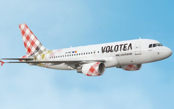 Envolez-vous avec Volotea en vol direct