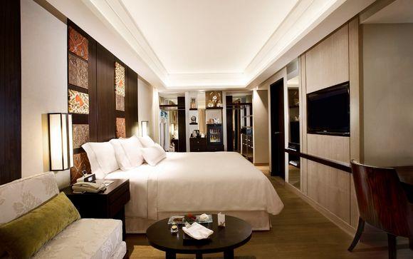 Poussez les portes de l'hôtel The Westin Resort Nusa Dua 5*