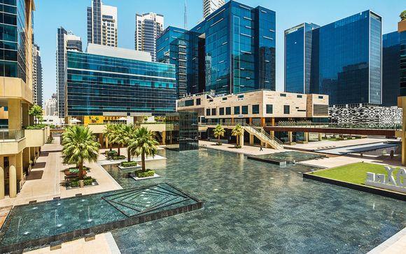 Design et confort avec vue sur le Burj Khalifa