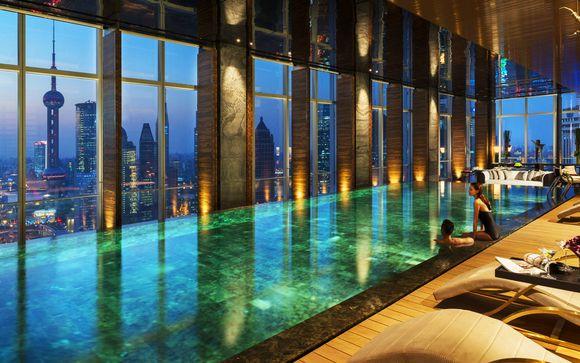 Four Seasons Hotel Pudong Shanghai 5* en cabine Air France La Première