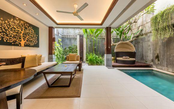 Poussez les portes de l'hôtel Tanadewa Luxury Villa & Spa 4*