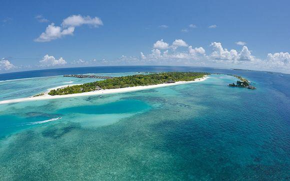 Votre extension à l'hôtel Paradise Island Resort aux Maldives