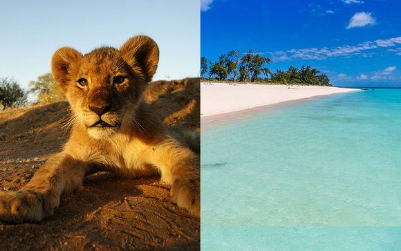 Safari au Parc Kruger et séjour balnéaire au Mozambique 13j/10n