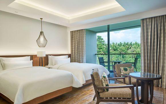 Poussez les portes de l'hôtel The Westin Resort & Spa Ubud