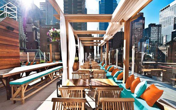 Rooftop exclusif au cœur de Times Square