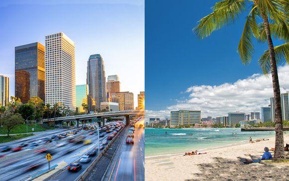 Combinato Los Angeles e Hawaii