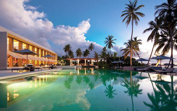 Fuga a 5* in lussuosa Villa su un atollo paradisiaco