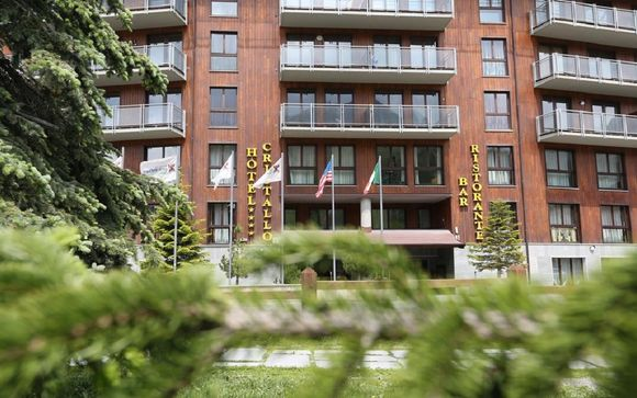 L'Hotel Cristallo 4*