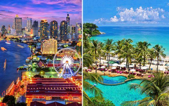 Panorami su Bangkok e Kata Beach in 4* fronte mare