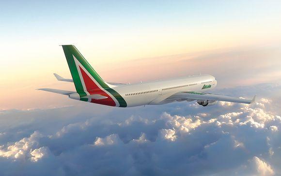 Vola verso una destinazione da sogno con Alitalia
