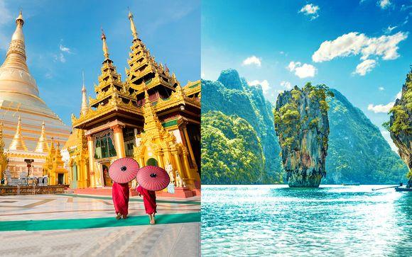 Tour privato della Birmania + possibile estensione mare a Phuket