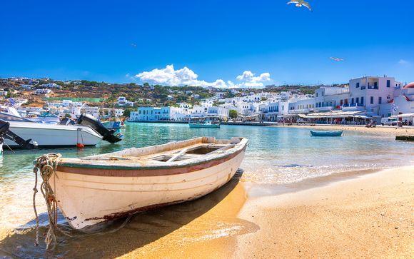 Itinerario 13 Notti - Mykonos, Paros, Naxos e Santorini