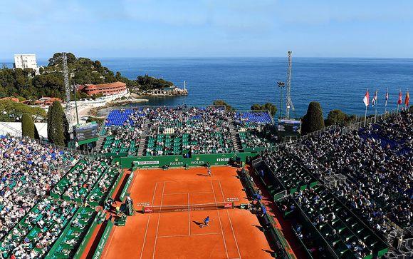 Monte Carlo Rolex Masters  + B4 Plaza Nizza 4* o B4 Park Nizza 4*
