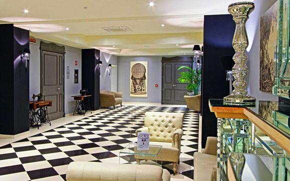 Il soggiorno: Hotel Calzavecchio 4*