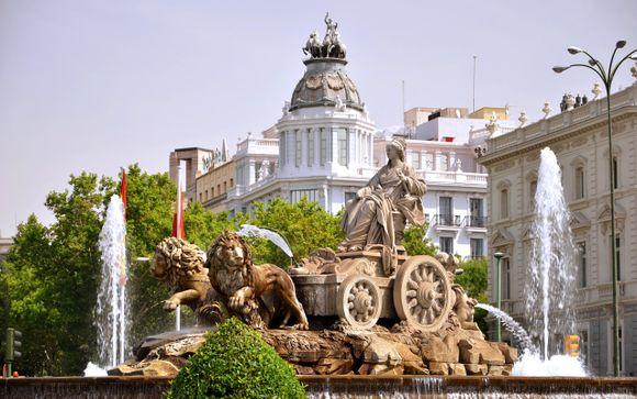 Itinerario per le partenze del 28 dicembre - Madrid, Andalusia e Toledo