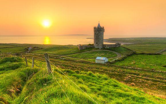 Autotour dell'Irlanda 4,7, o 10 notti