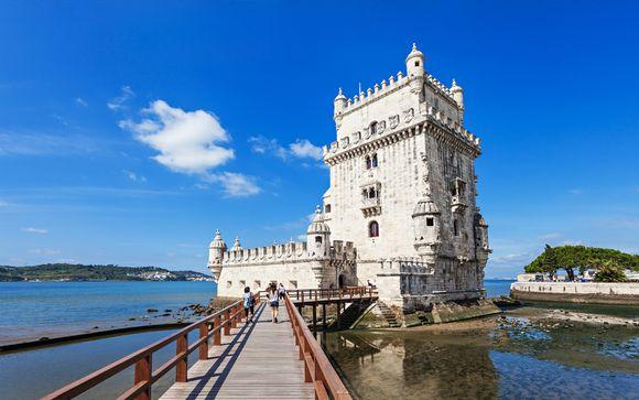 Neya Lisboa Hotel 4* con tour della città