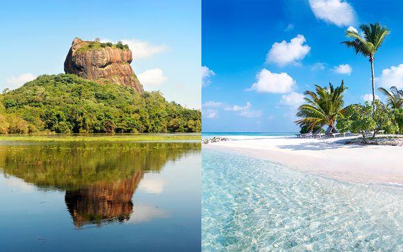 Minitour privato dello Sri Lanka + estensione mare al Canareef Resort Maldives 4*
