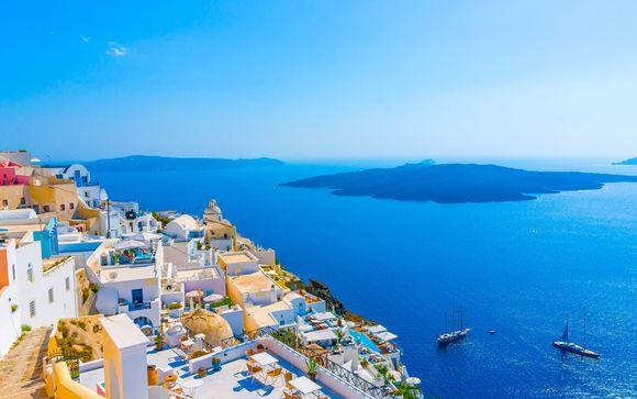 Grecia romantica: Atene, Folegandros e Santorini