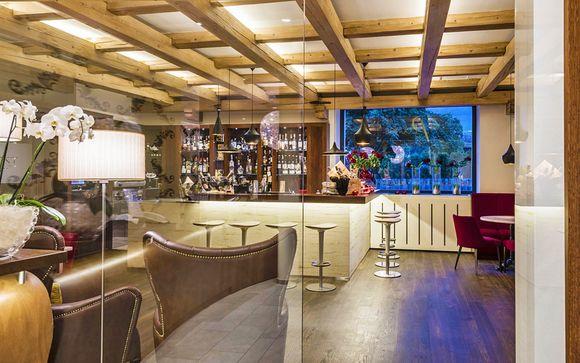 Relax di coppia in hotel di design con spa e ristorante gourmet