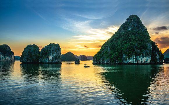 Tour privato del Vietnam con estensione a Saigon