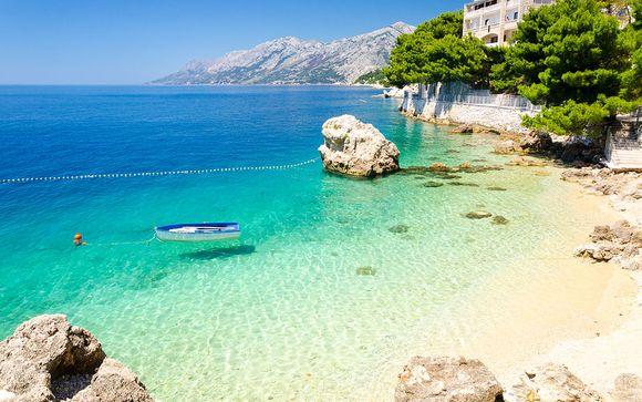 Elegante hotel 4* sulla spiaggia della Dalmazia