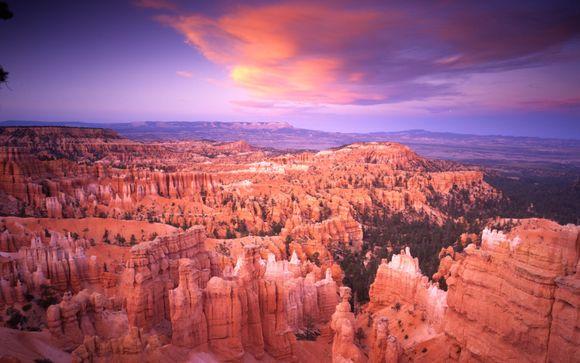 L'itinerario del tour tra Las Vegas e i Canyons