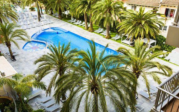 Camere vista piscina in 4* a 500m dalla spiaggia di Palma