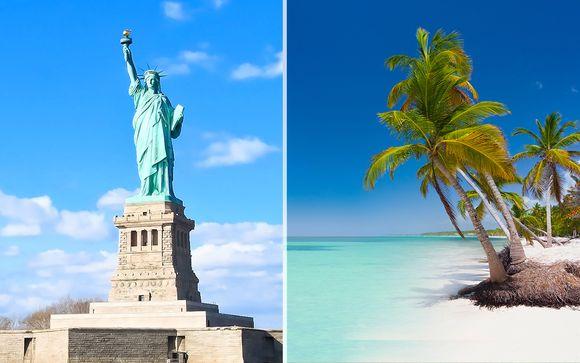 Vibrante NYC a 4* e relax 5* in spiaggia a Punta Cana