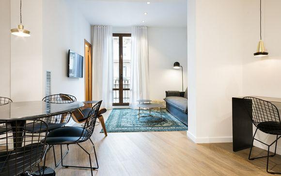 Design e comfort in appartamenti familiari nell'Eixample
