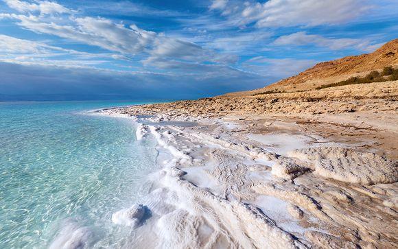 Estensione mare in Mar Morto