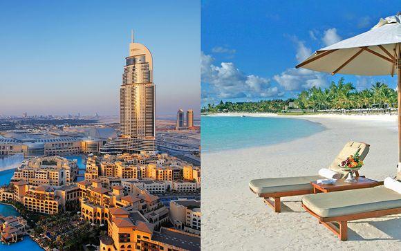 Crowne Plaza Hotel Dubai 5* + The Residence Mauritius 5*